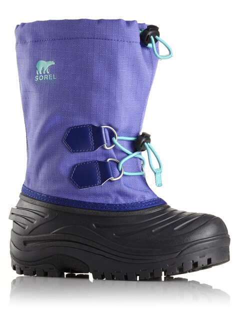 Sorel Super Trooper Boots Youth Purple Arrow/Reef